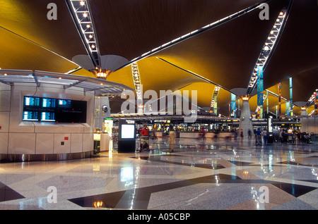 Kuala Lumpur, Klia International Airport - Stock Photo