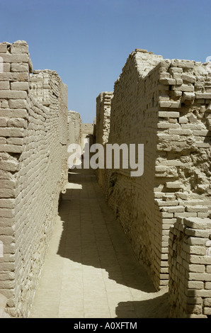Mohenjodaro Indus Valley civilization UNESCO World Heritage Site Pakistan Asia - Stock Photo