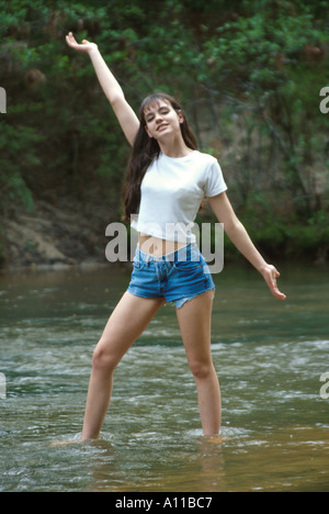Marilyn Ball Teen Model Stock Photo, Royalty Free Image