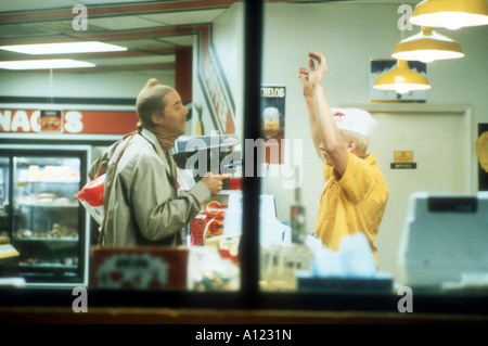 Raising Arizona Year 1986 Director Joel Coen Nicolas Cage - Stock Photo