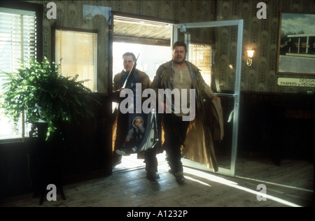 Raising Arizona Year 1986 Director Joel Coen John Goodman William Forsythe - Stock Photo