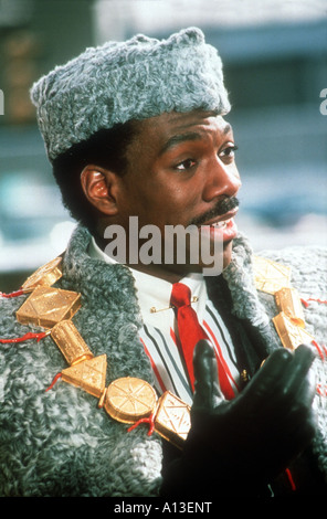 A summary of coming to america a movie by john landis
