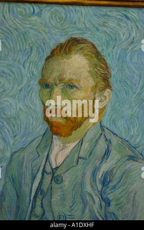 Self Portrait by Vincent van Gogh Musee d Orsay Paris France Europe - Stockfoto