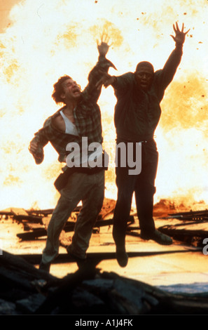 Blown Away Year 1994 Director Stephen Hopkins Jeff Bridges Forest Whitaker - Stock Photo