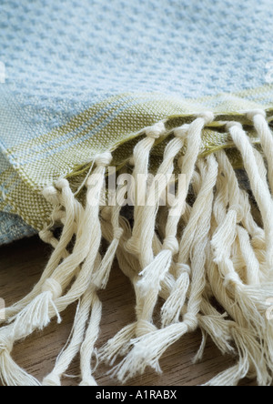 Fringe of towel - Stock Photo