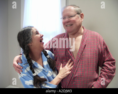 Couple in the Morning - Stock Photo