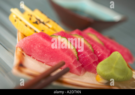tuna sashimi - Stock Photo