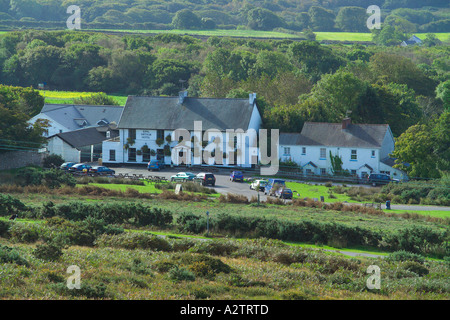 King Arthur Hotel Reynoldston Gower South Wales - Stock Photo