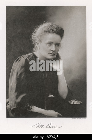 Marie Curie Nobel 1911 - Stock Photo