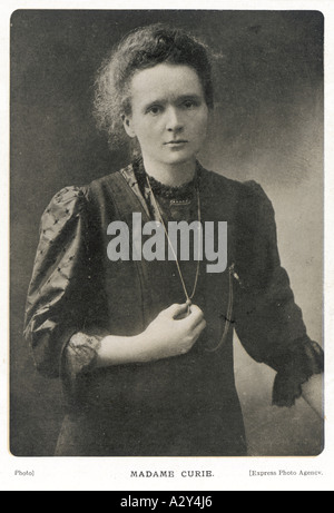 Marie Curie Photograph - Stock Photo