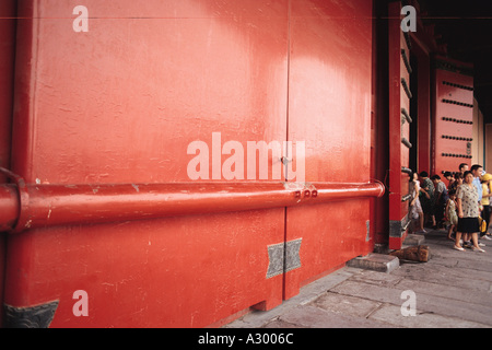 gate of Forbidden City Beijing China - Stock Photo