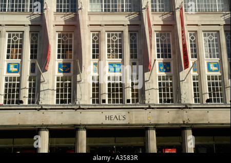 Heal 39 s tottenham court road london england britain uk for Furniture tottenham court road