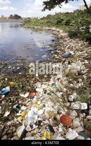 cruise ship waste, rubbish and debris being dumped in the