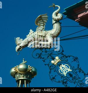 Dragon figure / Bruchsal - Stock Photo