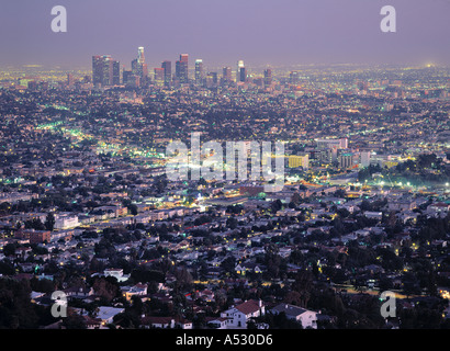 Downtown, Los Angeles, California, USA - Stock Photo
