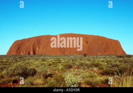 Ayers Rock, Australia, Northern Territories - Stock Photo