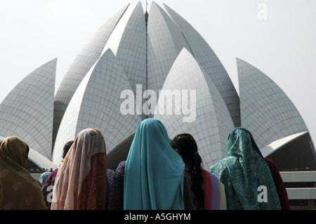 Bahai House of Worship, India, Delhi - Stockfoto