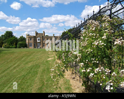Nonsuch House, Nonsuch Park, Cheam, Surrey, England, UK - Stock Photo