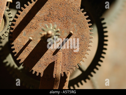 Rusty wheels - Stock Photo