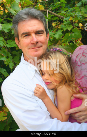 Daddy's Girl - Stockfoto