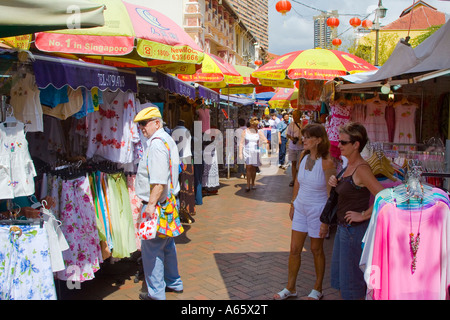 Western Tourists Shopping In Souvenir Stores At The Souq