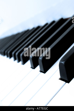 Piano keys. Picture by Patrick Steel patricksteel - Stockfoto