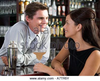 how to flirt with a girl bartender