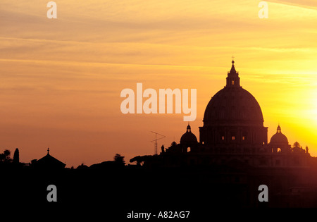 Italy, Lazio, Rome, the Vatican, Basilica Saint Peter - Stock Photo