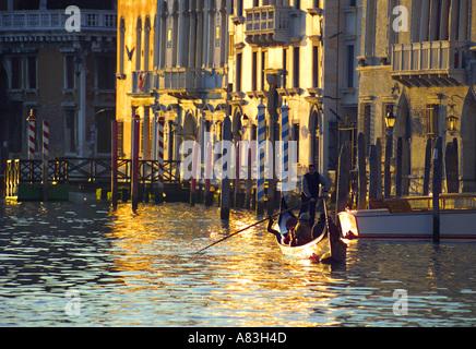 Grand Canal, Venice, Italy - Stock Photo