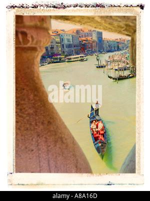 Grand Canal Venice Italy - Stock Photo