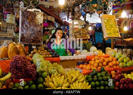 Outdoor Food Markets In San Juan Puerto Rico