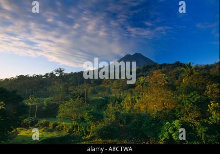 Volanco Arenal Bereich Norden von Costa Rica - Stockfoto