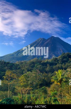 Volanco Arenal Zona Norte Costa Rica - Stock Photo