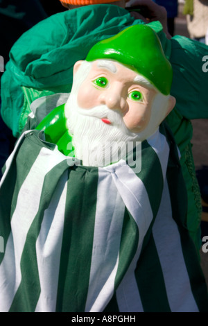 St patrick and face riding