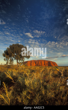 Ayers Rock Uluru Northern Territories Australia - Stock Photo
