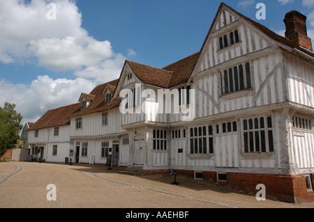 Lavenham Guildhall, Suffolk, UK - Stock Photo