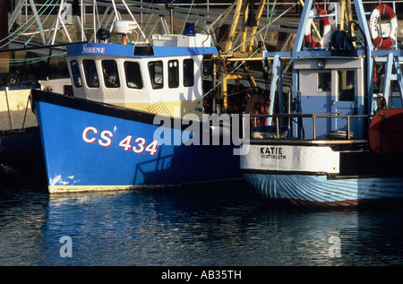 Fishing boats moored in portsmouth harbour camber dock by for Fish market portsmouth nh