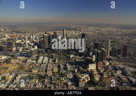 aerial Los Angeles CA - Stock Photo