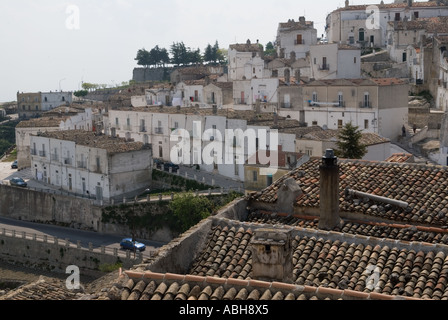 Monte Sant Angelo Monte Sant Angelo Puglia southern Italy - Stock Photo