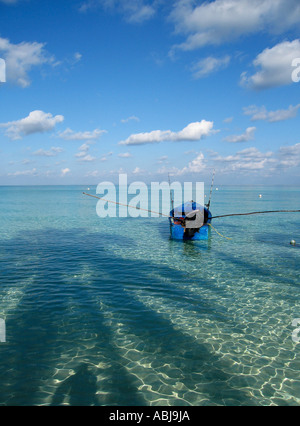 Fishing boat Jamaica - Stock Photo