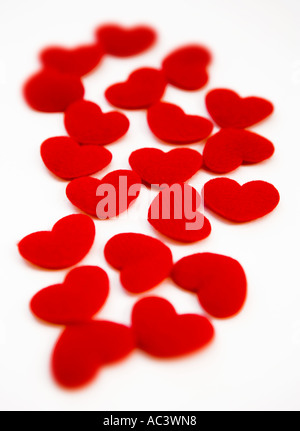 Red hearts - Stock Photo