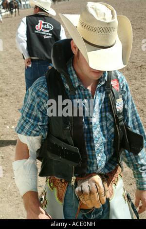 Injured Rodeo Cowboy Stock Photo Royalty Free Image