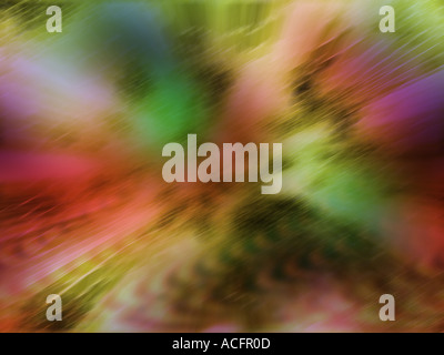 Computer generated colorful image - Stock Photo