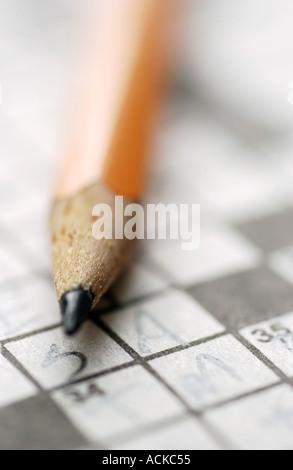 Crossword puzzle - Stockfoto