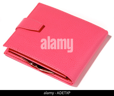 An closed Pink Purse. Picture by Paddy McGuinness paddymcguinness - Stock Photo