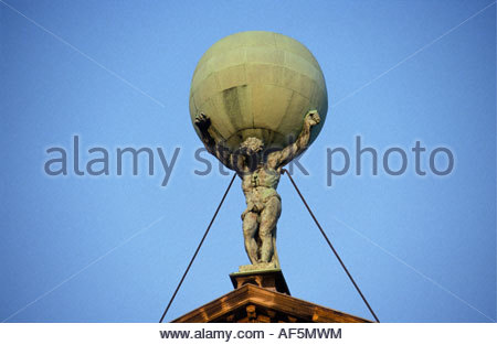 atlas greek god stock photo: 115247544 alamy
