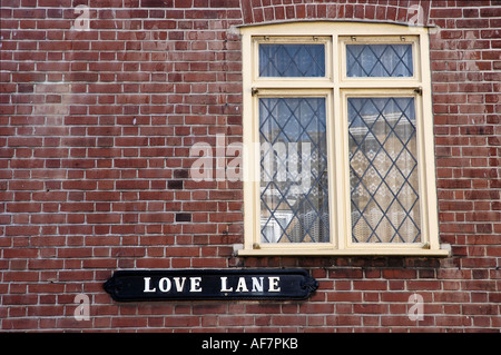 Street sign on the side of a building Margate Kent England - Stock Photo
