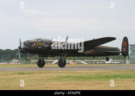 UK Air Force Avro 683 Lancaster B1 - Stock Photo