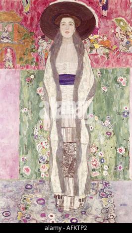 'fine arts, Klimt, Gustav (14.7.1862 - 6.2.1918), painting, 'Portrait Adele Bloch - Bauer', 1912, Österreichische - Stock Photo