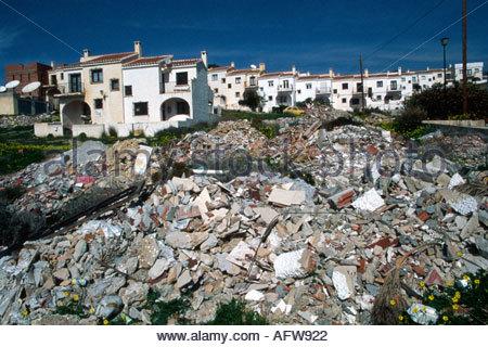 Construction Of New Holiday Apartments Accommodation Near Puerto Stock Photo Royalty Free Image